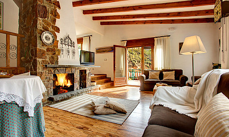 15 Fireplaces cosiest of Catalonia